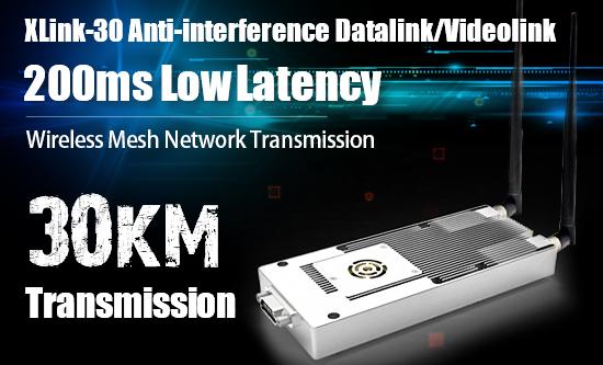 XLink-30 Data/Video Transmitting System