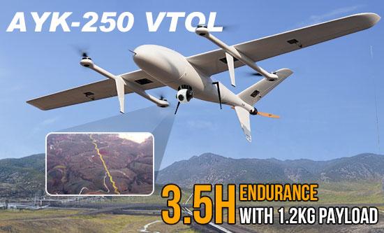 AYK-250 VTOL drone