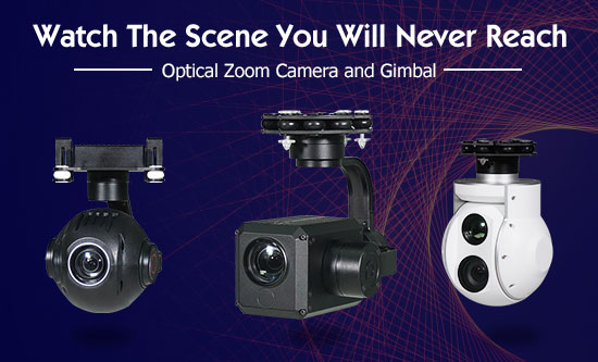 10X Optical Zoom Camera