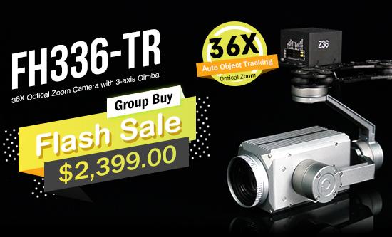FH336-TR 36X Optical Zoom Camera