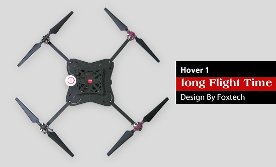 long time hour quad copter rotor foldable