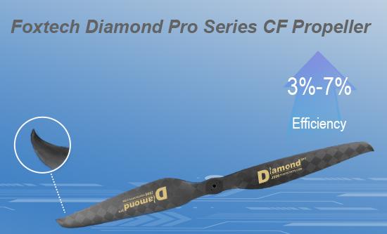 Diamond Pro Series CF Propeller