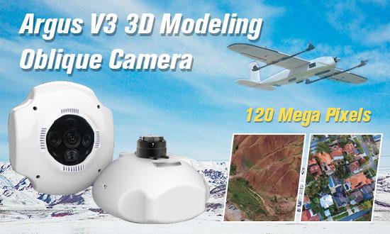3D Modeling Oblique Camera