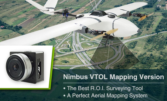 Foxtech Nimbus 1800 VTOL Mapping Version