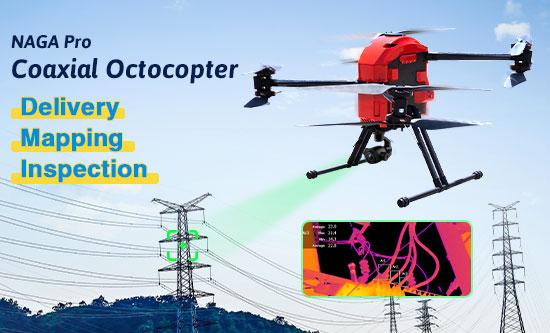 NAGA Pro Coaxial Octocopter