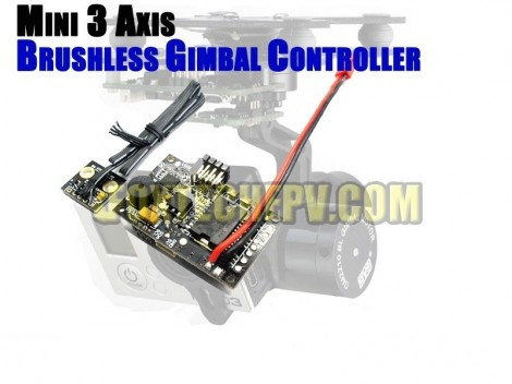 Mini 3 Axis Gimbal Controller(Alexmos authorised/Free Shipping)