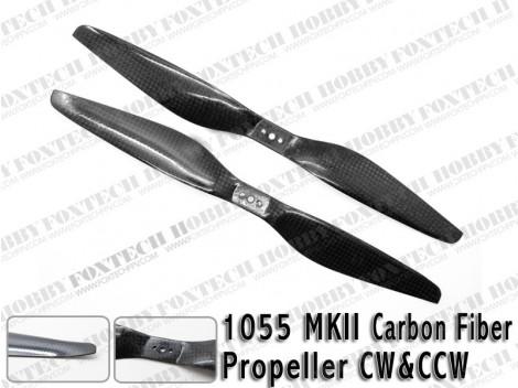 1055 MKII Carbon Fiber Propeller CW&CCW