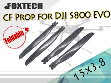 1538 CF Foldable Prop for DJI S800 EVO