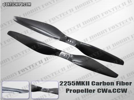 2255 MKII Carbon Fiber Propeller CW&CCW