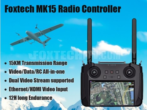 Foxtech MK15 Long Range Radio Controller