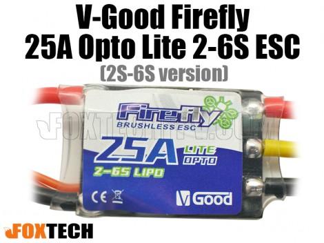 V-Good FireFly 25A Lite Opto 2-6S ESC