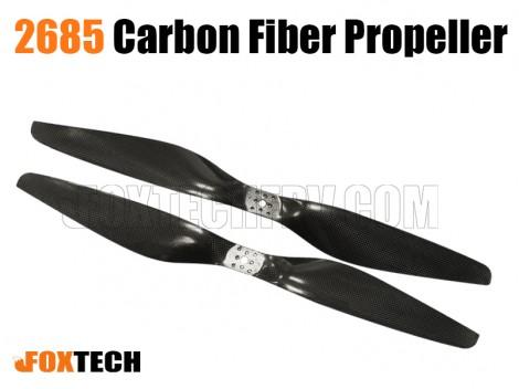2685 Carbon Fiber Propeller CW&CCW(8 holes)