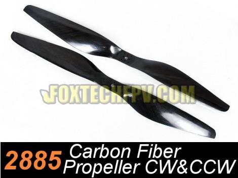 2885 Carbon Fiber Propeller CW&CCW