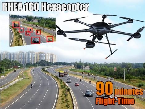 RHEA 160 Hexacopter Pixhawk RTF Combo