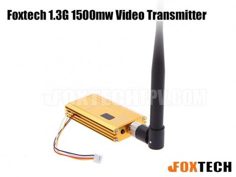 Foxtech 1.3G 1500mw video transmitter