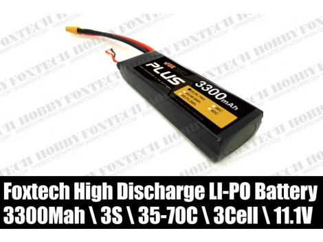 3s 3300mah lipo battery-high discharge for RC multicopter&helicopter&plane