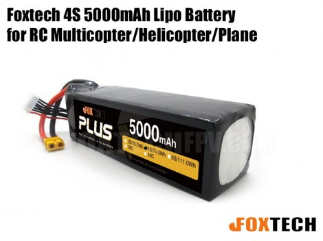 4s 5000mah lipo battery high discharge for RC multicopter helicopter plane