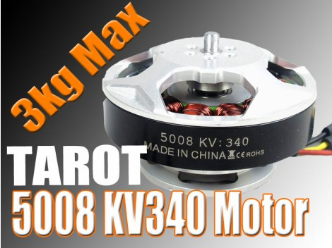 5008/340KV Brushless Motor/black(TL96020)