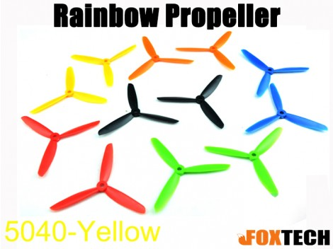 5040 3-Blades Rainbow Propeller CW/CCW