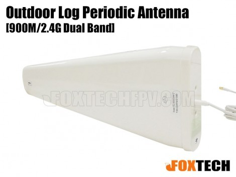 900M/2.4G Directional Dual Band 12dbi Outdoor Log Periodic Antenna