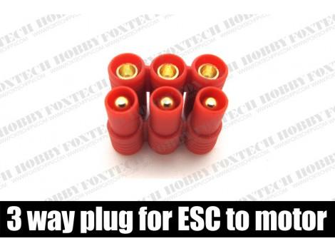 Amass 3 way plug for ESC to motor