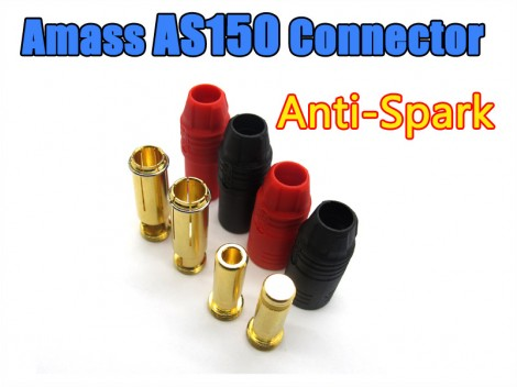 Amass AS150 7mm Gold-plating Anti Spark Plug