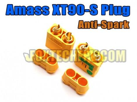 Amass XT90-S Plug(Anti-spark)