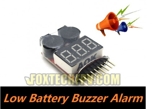 Low Battery Buzzer Alarm