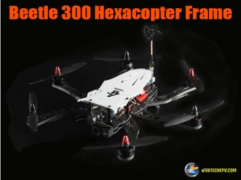 Beetle 300 Hexacopter Frame