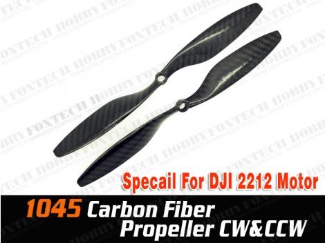 1045 CF Propeller CW&CCW For DJI 2212 motor