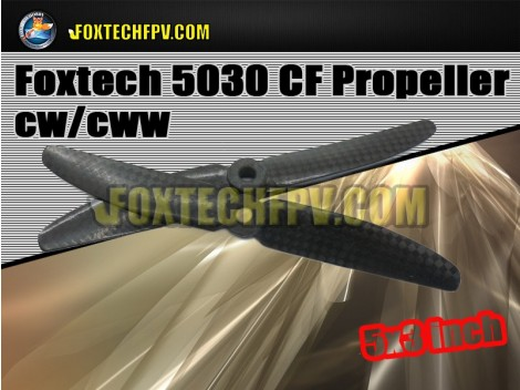Foxtech 5030 CF Propeller CW/CCW