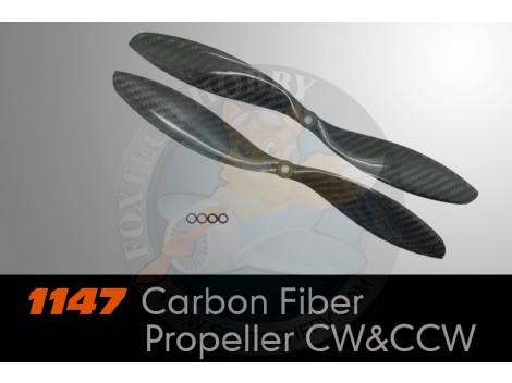 1147 Carbon Fiber Propeller CW&CCW