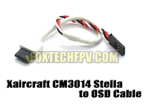 Xaircraft CM3014 Stella to OSD Cable