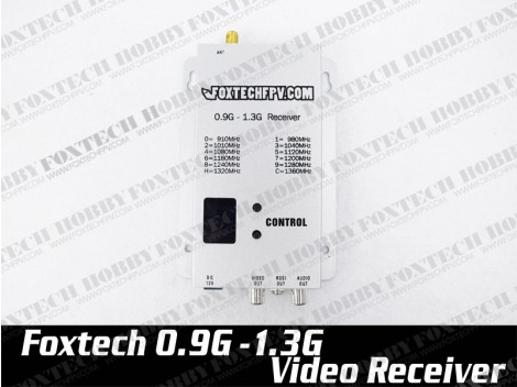 Foxtech 1.2G wideband video receiver