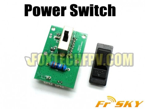 FrSky Power Switch Replacement for Taranis X9D