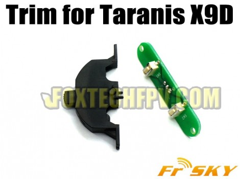 FrSky Trim fo Taranis X9D