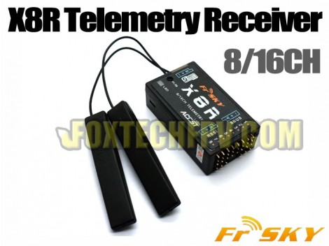 FrSky X8R 8 16CH Telemetry Receiver