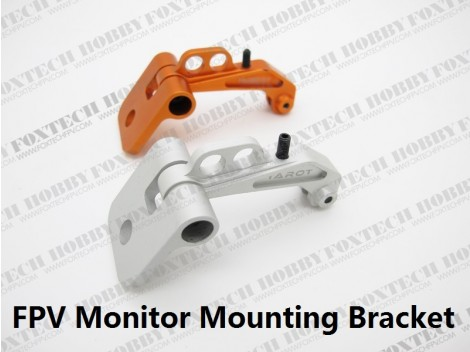 FPV Monitor Mounting Bracket Silvery
