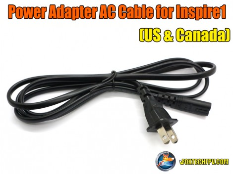 Power Adapter AC Cable(US & Canada) for Inspire 1