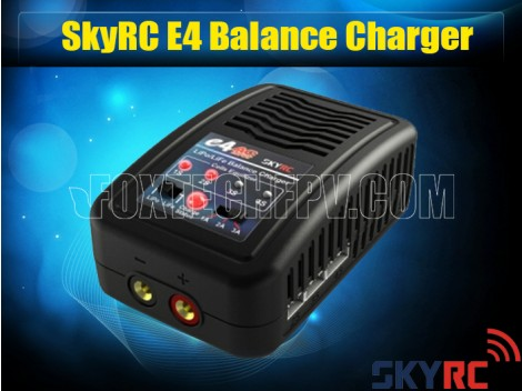 SKYRC e4 Charger 2 4 cells 1A 2A 3A 200mA 100-240V AC Balance Charger