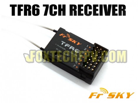 FrSky TFR6 7CH 2.4Ghz Receiver