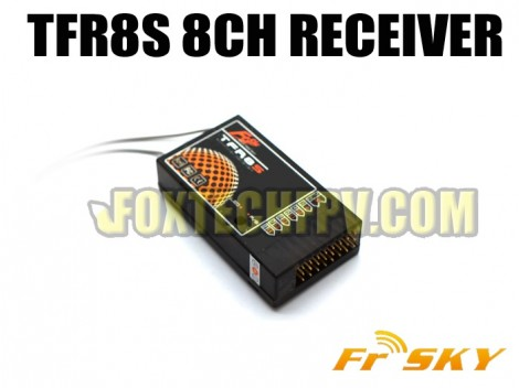 FrSky TFR8S 8CH 2.4Ghz Receiver