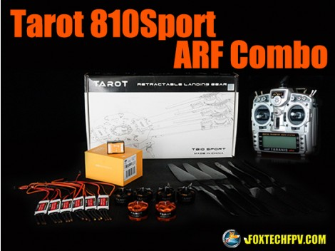 Tarot 810sport Folding Hexacopter ARF Combo