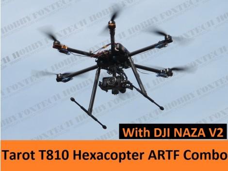 Tarot T810 Hexacopter ARTF(NAZA V2) Combo