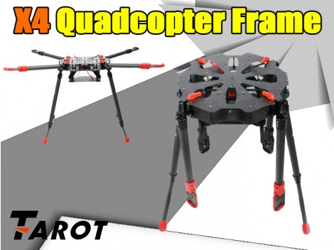 Tarot X4 Quadcopter Frame(TL4X001)