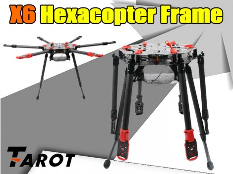 Tarot X6 Hexacopter Frame(TL6X001)