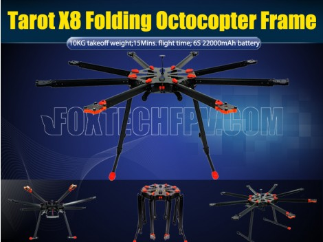 Tarot X8 Octocopter Frame(TL8X000)