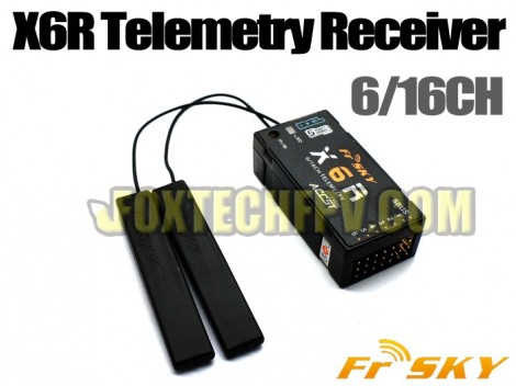 FrSky X6R 6 16CH Telemetry Receiver