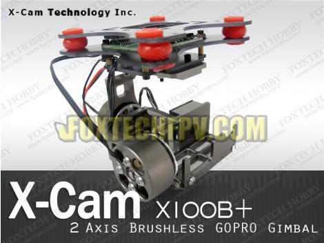 X-CAM X100B+ 2Aixs Brushless Gopro Gimbal