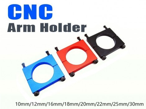 25mm Anodized CNC Arm Holder
